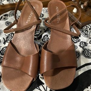 Aerosole strappy heels